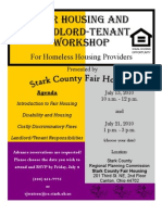 Training Housing Provider