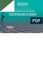 Planes y Programas Educacion Inicial Escolaridad