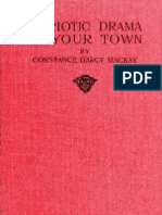 (1918 Patriotic Drama in Your Town