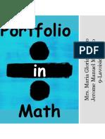 Portfolio in Math(3rd).pptx