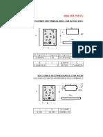 Analisis Por Flexion Para Seccciones Recctangulare