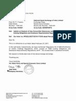 Update on Buyback of Non-Convertible Debentures - Revised [Company Update]