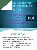 Hand Hygiene Training2017