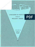 William P. Miesel - Precursor Issue 001