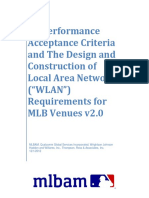 MLBAM RF Performance Acceptance Criteria for Venues - V2_12!6!12 Rdj