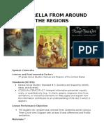 cinderella social studies symbol lesson
