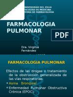 Clase Farmacologia Pulmonar 2017