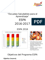Presentación ESPA 2017