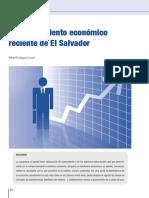 Comportamiento Económico Reciente de El Salvador