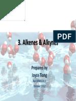 3. Alkenes and Alkynes-Students Copy