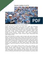 Tugas Ti-8 Bahaya Sampah Plastik