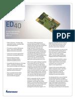 ED40 Spec Web
