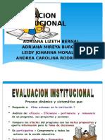 cevaluacioninstitucional1-131120153437-phpapp01