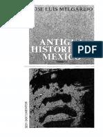 Antigua historia deMexico