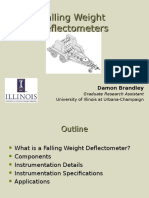 Falling Weight Deflectometers Damon Brandley