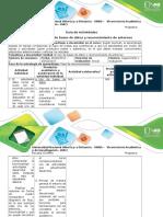 Guía de actividades y rúbrica de evaluación - Etapa 1 - Uso de bases de datos y reconocimiento de entornos.docx