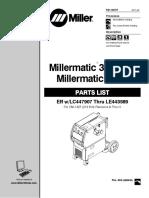 Manual Partes Millermatic 350