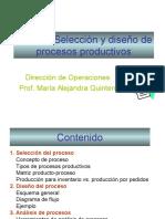 Seleccion y Diseño de Procesos Productivos