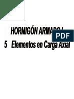 Apuntes de fuerza axial Chile