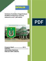 Panduan Penyusunan Portofolio KPT KKNI UNAS.doc