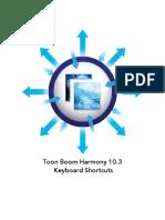 HAR103 Keyboard Shortcuts