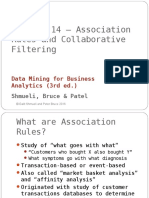 Chapter 14 Association Rules Collaborative Filtering