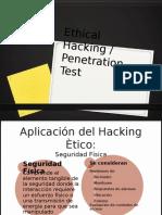 Auditoria - Ethical Hacking / Penetration Test