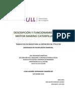 Descripcion y Funcionamiento Del Motor Marino Caterpillar 3618