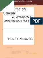 Computacion Ubicua Apuntes Curso (Arquitecturas) Febrero 17