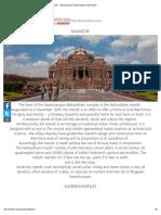 Mandir – Swaminarayan Akshardham New Delhi.pdf