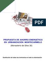 Propuesta de ahorro energetico en una comunidad de vecinos