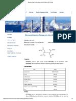 Ethylene Diamine Tetraacetic Acid DiSodium (EDTA