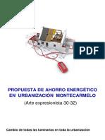 Proyecto Ahorro Energetico en Una Comunidad