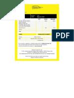 OneWay Cab - Invoice No._13175