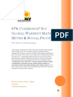 The Global Warming 97% Consensus Myth - Friends of Science