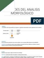Tema 2 Unidades de Análisis Morfológico