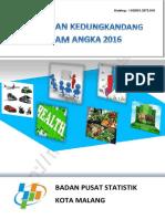Kecamatan Kedungkandang Dalam Angka Tahun 2016 - BPS Kota Malang