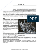 Minerals - Fact Sheets - Antimony