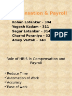 Compensation & Payroll