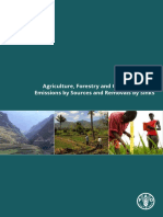 Agriculture, Forestry and Other Land Use Emissions by Sources and Removals by Sinks