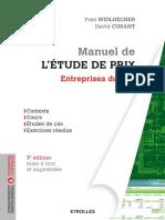 Manuel de l'Étude de Prix 9782212144833