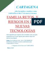 FAMILIA:RETOS Y RIESGOS EN LAS NUEVAS TECNOLOGÍAS