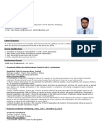 Md. Rakib Hasan CV