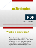 Promotion Strategies IMC