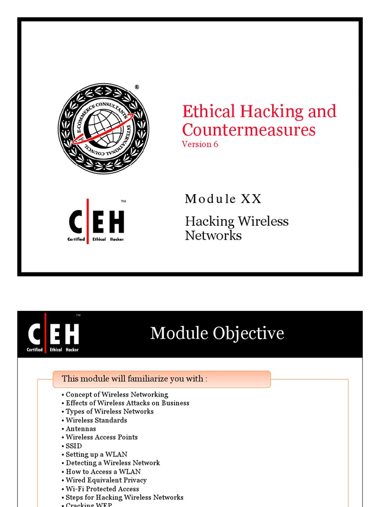 Ceh module 20 hacking wireless networks wireless lan ieee 80211 xflitez Image collections