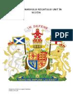 Stema Monarhului Regatului Unit În Scoţia