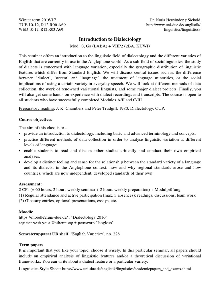 stylesheet term paper uni due