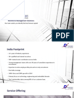 D Recruitment Company - Corporate Overview
