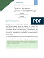 7. ASPECTOS DIDACTICOS