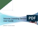 VLSC User Guide 082011